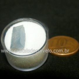 Calcita Azul do Mexico no Estojo Pedra Natural Cod 126640