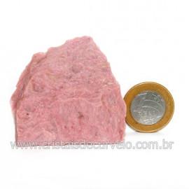 Jaspe Rosa Do Peru Pedra Bruta Natural de Garimpo Cod 128553