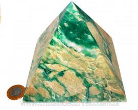 Pirâmide GRANDE Pedra Jade Verde Natural Queops cod PG8275