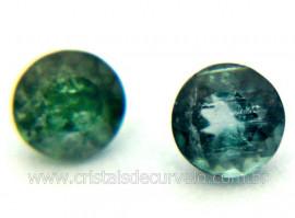 Gema Turmalina Azul Pedra Natural 0.3ct 4mm Cod TA1263