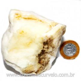Selenita Laranja Pedra Natural Para Esoterismo Cod 124000