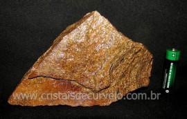 Bronzita Pedra Bruto Natural de Garimpo Pra Colecionador ou Esoterismo Cod 639.0