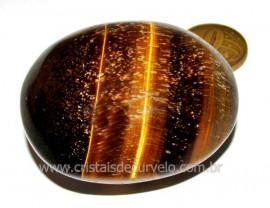Massageador Sabonete OLHO DE TIGRE Pedra Natural Cod ST9557