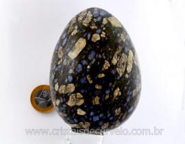 Ovo Pedra Riolita Vulcanica Grande Natural Mineral de Rocha Lapidado Manual cod 1.005