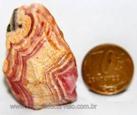 Rodocrosita Argentina Extra Pedra Natural Garimpo Cod 101715