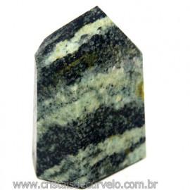 Ponta Pedra Quartzo Brasil Natural Gerador sextavado 113884