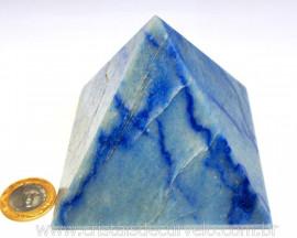 Pirâmide GRANDE Pedra Quartzo Azul Natural Queops cod PG4573