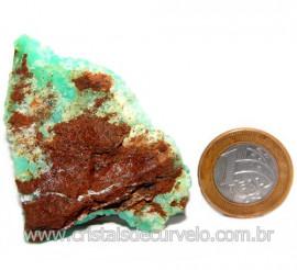 Crisoprasio Bruto Especial Pedra da Esperança Cod 119682
