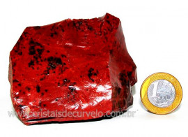 Obsidiana Mogno ou Mahogany Pedra Bruta Vulcanica Cod OM3115