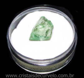 Hidenita ou Kunzita Amarela No Estojo P/ Coleçao Cod  115477