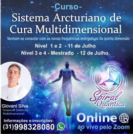 Kit de Minerais para Curso Sistema Arcturiano de Cura Multidimensional Nível 1, 2, 3 e 4  PROFESSOR GIOVANI SILVA
