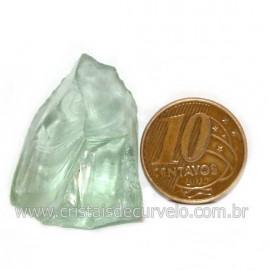 Obsidiana Verde Pedra Vulcanica Ideal P/ Coleçao Cod 128425