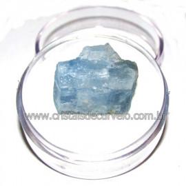 Calcita Azul do Mexico no Estojo Pedra Natural Cod 114189