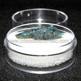 Labradorita Canadense Mineral Natural No Estojo Cod 114208