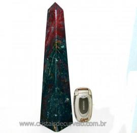 Obelisco Sárdio Pedra Natural Lapidação Manual Cod 101405