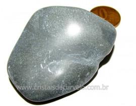 Massageador de Seixo Pedra Basalto Natural Cod MB6933