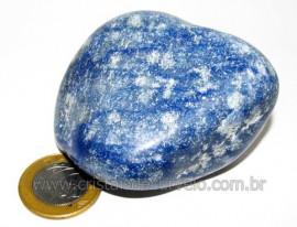 Massageador De Seixo Pedra Quartzo Azul Natural Cod 106014