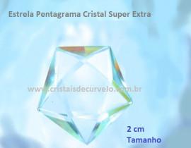 Pentagrama Pedra Cristal Simbolo Wicca