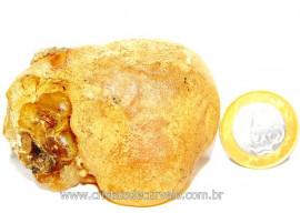 Ambar Natural Brasileiro ou Copal Resina Fossilizado Rocha Organica Cod AC5830