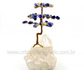 Arvore Da Felicidade Pedra Sodalita na Drusa REFF AD6056