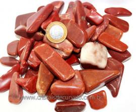 1kg Cascalho Polido Quartzo Vermelho Grande Reff 111277