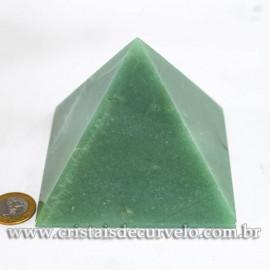 Piramide GRANDE Pedra Quartzo Verde Natural Queops cod 120751