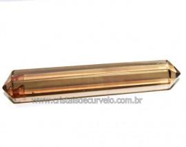 Bi Terminado Quartzo Fumê Tamanho Mini 4 a 6cm Reff MB2547