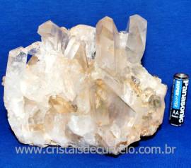 Drusa Cristal Natural Pedra Grande Boa Qualidade Cod 123616