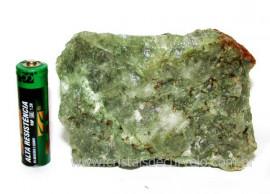 Epidoto Verde Filamento na Matriz Cristal Quartzo Cod 102491