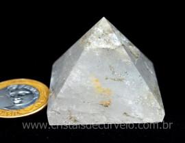 Piramide Cristal Boa Transparencia Baseado Queops Cod PT8770