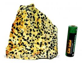 Jaspe Dalmata Pedra Natural Mineral de Esoterismo Cod JD3729