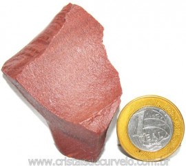 Dolomita Vermelha Pedra Natural Bruto de Garimpo Cod 110873