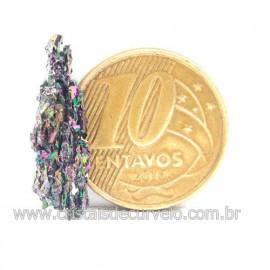 Sílicio Arco-Íris Natural no Estojo Para Colecionar Cod 123371