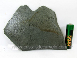 Ardosia Bruto Pedra Pra Colecionador ou Estudante de Minerais Geologia Cod 90.6
