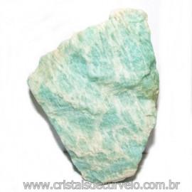 Amazonita Verde Extra Bruto da Familia Feldspato Cod 115647