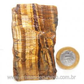 Olho de Tigre Pedra Extra Bruto Natural da África Cod 121221