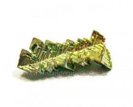 Bismuto Mineral ou Bismuth Stone Pedra Natural Cod BB9761