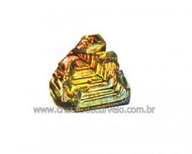Bismuto Mineral ou Bismuth Stone Pedra Natural Cod BB8573
