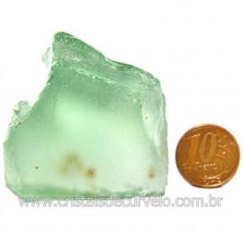 Obsidiana Verde Pedra Vulcanica Ideal P/ Coleçao Cod 119724