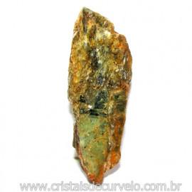 Cianita Verde Distenio Canudo Formato Bruto Cod 116294