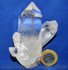 Drusa Cristal Pedra Quartzo Natural Boa Qualidade Cod 110852