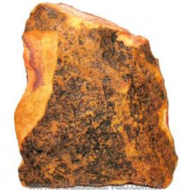 Jaspe Rajado Bruto Natural Pedra Ideal P/ Coleçao Cod 116185