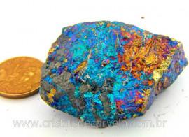 Bornita ou Pedra Pavão Mineral Para Esoterismo Cod BB3780