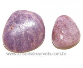 02 Lepidolita Mica Natural Rolado Ideal P/Coleção Reff 108971