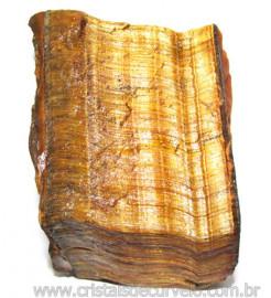 Olho de Tigre Pedra Extra Bruto Natural da África Cod 111118