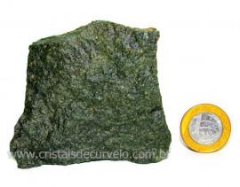 Basalto Verde Bruto Para Colecionador ou Estudante Cod BV6985