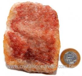 Hematoide Vermelho Natural Quartzo Cristalizado Cod 121528