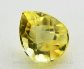 Gema Green Gold Gota Pedra Natural Montagem Joias Cod GG2548