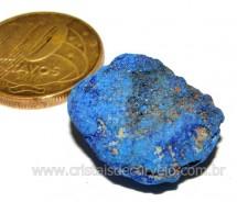 Azurita Pedra Bruta Natural Para Colecionador Cod AB9908