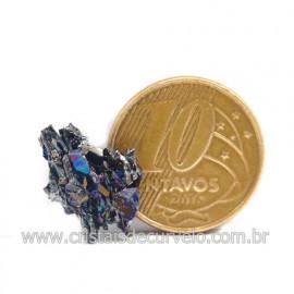 Sílicio Arco-Íris Natural no Estojo Para Colecionar Cod 123356
